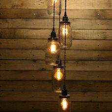 Rustic Pendant Lighting by AES Mobile Studios