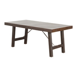 Iron Turnbuckle Dining Table - Product Features: