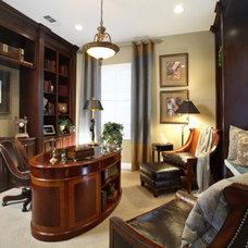 Traditional Living Room by J. Hettinger Interiors
