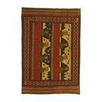 eSaleRugs - 6' 3 x 9' 2 Pictorial Sumak Rug - SKU: 22139469 - Hand Woven Pictorial Sumak rug. Made of 100% Wool. Brand New.