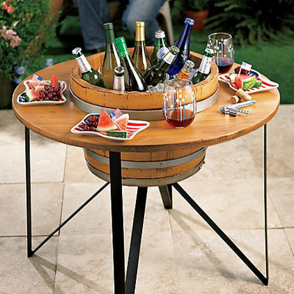 Contemporary Outdoor Tables by Wine Enthusiast Companies