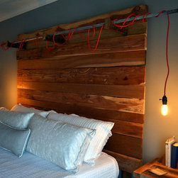 Reclaimed Industrial Headboard -