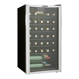 Danby - 35-Bottle Wine Cooler - -35 bottle (3.2 cu. ft.) capacity