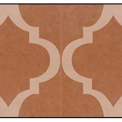 Casart coverings - MoRockAn Arch, Rust Wallcoverings, Rust, Backsplash (15 Sq. Ft.), Casart Light - Add some Marrakesh style to your home dcor with this Moroccan-inspired collection of faux tile patterns.