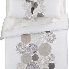 Spirograph Bed Linens in All Decorative Bedding | Crate and Barrel