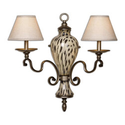 Uttermost - Malawi 2 Light Wall Sconce - Malawi 2 Light Wall Sconce