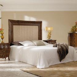 Macral Design. Beds, Headboards, Nightstands and dresser - MEASURES HEADBOARD: