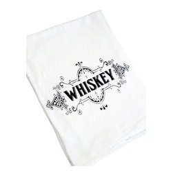 The Coin Laundry - Whiskey Kitchen Towel - Just add whiskey!