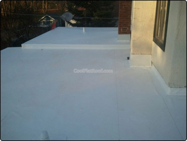 Mediterranean  by Cool Flat Roofing MA