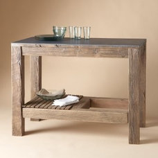 Kitchen Islands And Kitchen Carts Rustic kitchen island