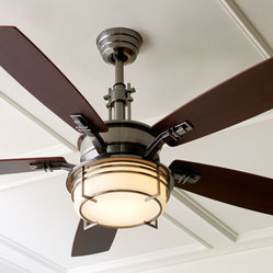 Modern Pewter Ceiling Fan
