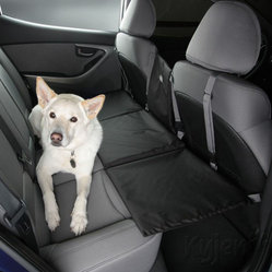 Kyjen - Auto Extend-A-Seat Blk - The Extend-A-Seat is the ultimate safety solution for automobile travel with dogs. By offering a platform at seat level, the Extend-A-Seat expands riding space while providing safety. Attaches in minutes to the seats of most vehicles.