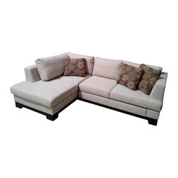 Pino Sectional with Bed - - Manufactured in Europe