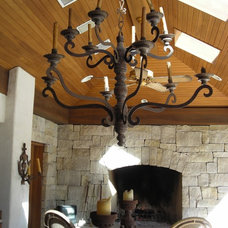Rustic Chandeliers by K Two Designs, Inc.