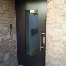 Contemporary  by RK Door Systems