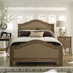 Schnadig Corporation - Cobblestone Upholstered Bed -
