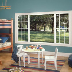 Centurion®: Quality Vinyl Windows - Centurion® windows are a stylish solution for durability, ease of maintenance and energy efficiency. Photo by Alside.