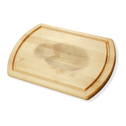 J.K. Adams - Turnabout Board, 2014 - Your kitchen simply isn't complete without this maple wood carver. One side boasts a uniquely shaped roast/poultry holder to cradle meat for slicing; flip it for a flat cutting surface with a wide juice groove.