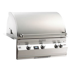 Fire Magic A540i Built-In Gas Grill - Fire Magic Aurora Built-In Gas Grill Model A540i With Rotisserie