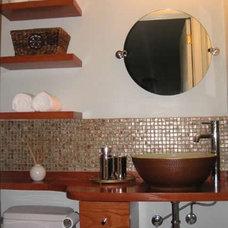 Contemporary Bathroom by balance design