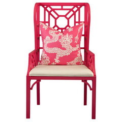 "eclectic chairs Boulevard ""Wing"" Chair by Lilly Pulitzer"