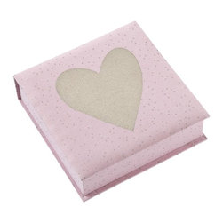 Pink Sparkle Collection Box - Use this to store jewelry, coasters or any little trinkets you have lying around.