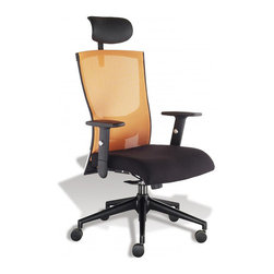 Jesper Office Furniture - Glow Office Chair by Anna Collection - Features: