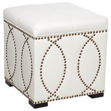 Contemporary Ottomans And Cubes by Lamps Plus