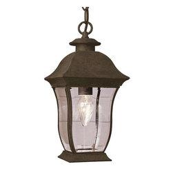 Trans Globe Lighting - Trans Globe Lighting 4974 BK Outdoor Hanging Light In Black - Part Number: 4974 BK