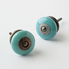 modern knobs by Anthropologie
