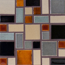Modern Tile by Mercury Mosaics and Tile
