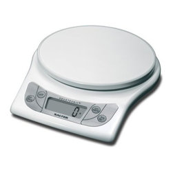Taylor - Aquatronic Kitchen Scale White - Salter Aquatronic electronic kitchen scale weighs both dry and liquid ingredients