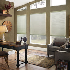Contemporary Cellular Shades by Ruffell & Brown Window Fashions