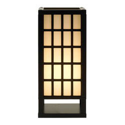 Adesso - Adesso 3670-01 Middleton Table Lantern - Adesso 3670-01 Middleton Table Lantern