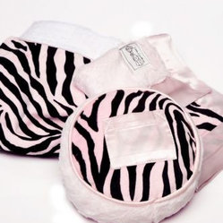 On Sale Safari Zebra Tooth Fairy Pillow - Blue - Circle