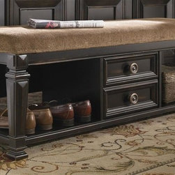 Pulaski - Brookfield Bench - Two drawers