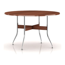 Herman Miller Nelson Swag Leg Round Dining Table
