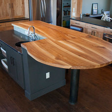 Contemporary Kitchen Countertops by Stone and Cottonwood