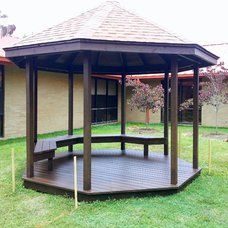 Traditional Patio by AARCON Construction and Remodeling