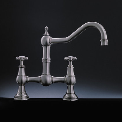Traditional Kitchen Faucets by https://www.lightinguniverse.com