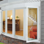 Bow Window with Casements - Beauty shot of our Bow window
