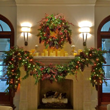 Traditional Holiday Decorations by Hob Nob Decor