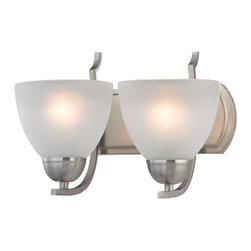 Cornerstone Lighting - Cornerstone Lighting 1402BB Kingston 2 Light Bathroom Vanity Light - Features: