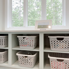 Contemporary Laundry Room by Turan Designs, Inc.