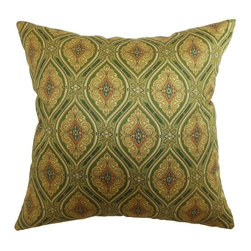 Pillow Collection - The Pillow Collection Heihe Paisley Pillow - P18-42134-BUDDHA-C100 - Shop for Pillows from Hayneedle.com! With all the stately elegance of a Victorian wallpaper The Pillow Collection Heihe Paisley Pillow is sure to make a commanding appearance in your home. Made of 100% soft cotton this traditional square pillow features a plush 95/5 feather/down insert for a luxurious softness. This opulent design is available in a variety of colors so you can get the look that suits you perfectly.About The Pillow CollectionIdentical twin brothers Adam and Kyle started The Pillow Collection with a simple objective. They wanted to create an extensive selection of beautiful and affordable throw pillows. Their father is a renowned interior designer and they developed a deep appreciation of style from him. They hand select all fabrics to find the perfect cottons linens damasks and silks in a variety of colors patterns and designs. Standard features include hidden full-length zippers and luxurious high polyester fiber or down blended inserts. At The Pillow Collection they know that a throw pillow makes a room.