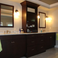 Contemporary Bathroom by Columbia CabinetWorks