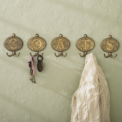 Filigree Monogram Hooks