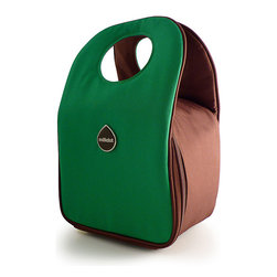 Milkdot - Stöh Lunch Tote, Jelly Bean Green - Stöh is a modern yet practical solution for a lunch bag that combines clean and simple design with features perfect for stowing your favorite food, drink and utensils and cool enough for the whole family to carry too. Sleek and timeless, Stöh is for all-ages. Lightweight and folds flat for easy storage after use.