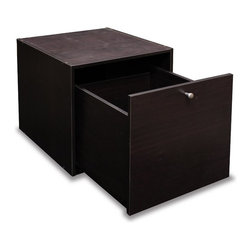 Furinno - Furinno 11016EX Hidup Tropika Cube Drawer - Furinno Hidup Tropika eco modular system is designed for space saving and modern stylish look. The main material- Particleboard is made from recycled materials of rubber trees, helps to reduce waste and preserve environment. The Particleboard is manufactured in Malaysia and comply with the green rules of production. There is no foul smell of chemicals, durable and it is one of the most stable amongst particleboard used to make RTA furniture. This series of storage system is not the lightest in weight thus provide stability while placing on any elevated surface. Mix and match option uses wood dowel to connect each unit. Care instructions: wipe clean with clean damped cloth. Avoid using harsh chemicals. Please contact us for missing parts, damaged goods, or other questions. We are pleased to send you the replacement part free of charge. Pictures are for illustration purpose. All decor items are not included in this offer.