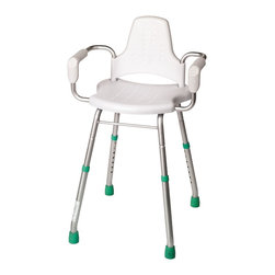 Croydex - Croydex Modular Shower Stool, White (AP400222YW) - Croydex AP400222YW Modular Shower Stool, White
